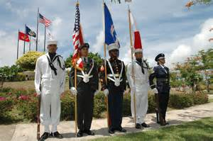 navy color guard file us navy 050628 n 7293m 014 service members stand at