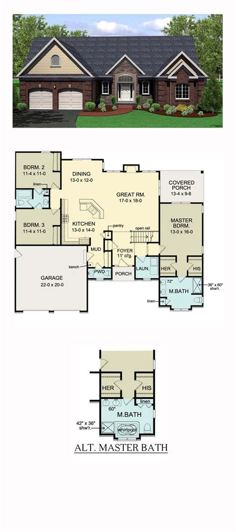 2 bedroom ranch home plans floor plans for bedroom ranch homes ideas with 3 rambler images luxamcc