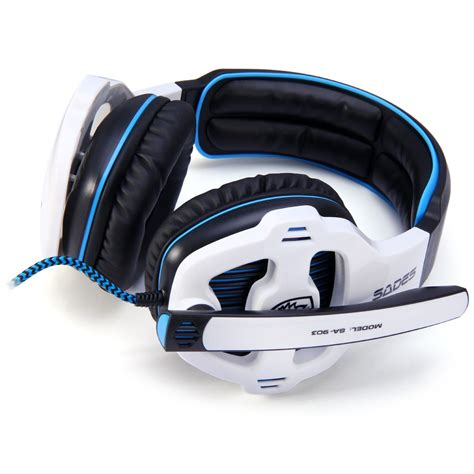 Sades Wolfang 7 1 Sound Channels Usb Gaming Headset Headphone Sa 9 sades sa 903 7 1 surround sound channel usb gaming headset