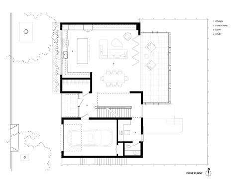 House Plans 1 Floor Gallery Of Noe House Studio Vara 10