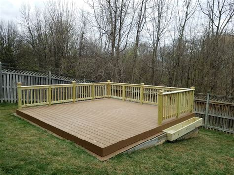 sloped backyard deck ideas best 25 floating deck ideas on pinterest tree deck