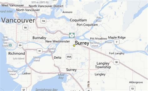 surrey weather station record historical weather for