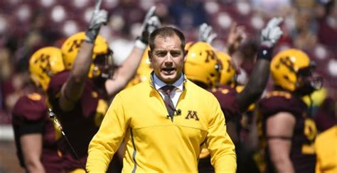 minnesota is recruiting up a storm under p j fleck - Pj Fleck Row The Boat Quote