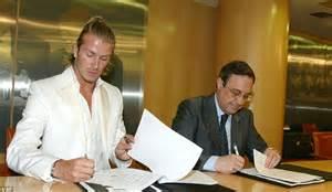 Beckhams 16 M Italian Tv Deal by As David Beckham Turns 40 Mailonline Looks Back At