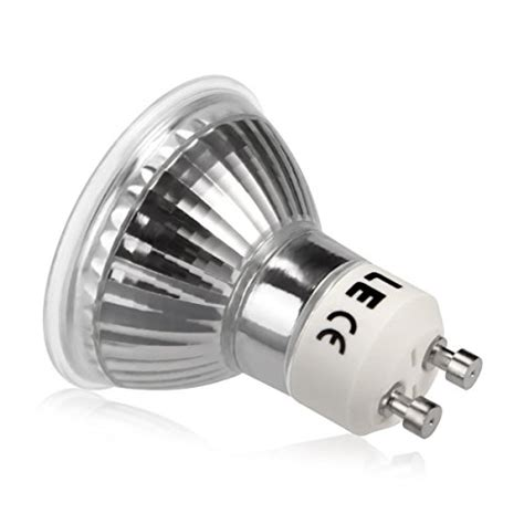 Gu10 Led Light Bulbs 50w Le 174 3 5w Mr16 Gu10 Led Bulbs 50w Halogen Bulbs Equivalent 300lm Warm White 3000k 120 176 Beam