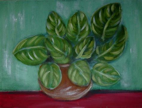 painting my house my house plant painting by joseph ferguson