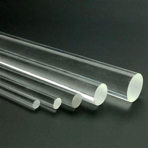 Acrylic Glass acrylic rod 216 3 16 quot 5mm clear plexiglass transparent