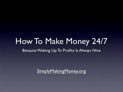 The Secret To Making Money Online - the secret weapon to make money online 24 7