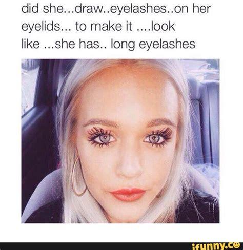 Eyeliner Meme - makeup ifunny