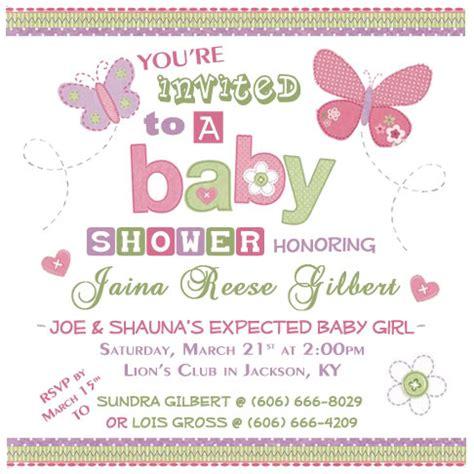imagenes mariposas para baby shower niña 13 hermosas invitaciones con mariposas tarjetas para