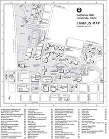 Chico State Campus Map by Universityparent Guide To California State University