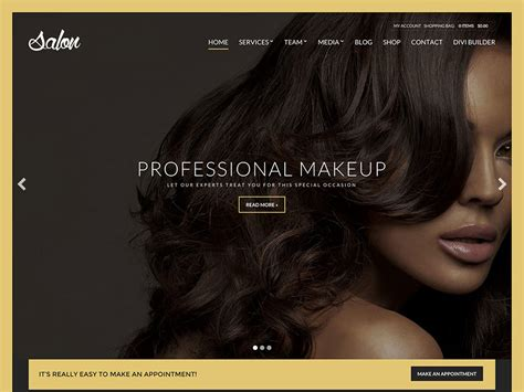 black hair website gallery 45 best spa beauty hair salon wordpress themes 2018
