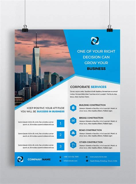 27 construction flyer templates free premium