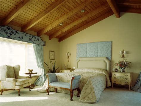 vaulted ceiling master bedroom hgtv