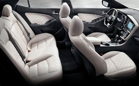 Kia Optima Sxl Interior Most Loaded Range Topping Kia Optima Sxl Turbo Kia News