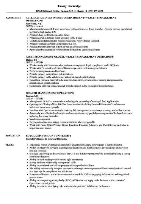 Fixed Income Analyst Sle Resume by Fixed Income Operations Analyst Description Create Resume Best Resume Templates