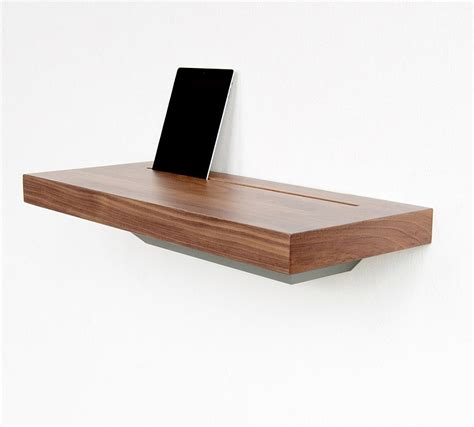 elegant stage offers  discreet charging shelf