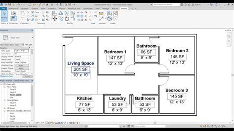 revit label tutorial autodesk revit 2018 tutorial 3 creating room labels