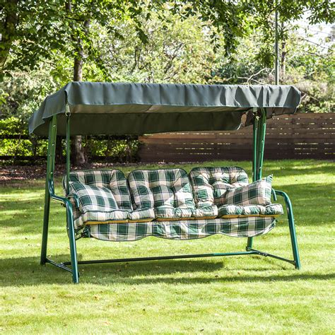 3 seat bench cushions outdoor alfresia outdoor reclining hammock 3 seater swing bench
