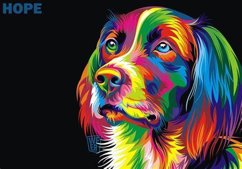 imagenes abstractas vectoriales coloridas ilustraciones vectoriales de animales por wahyu