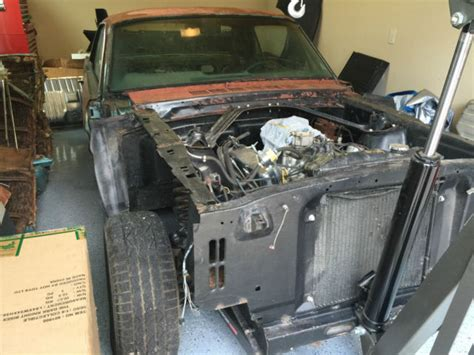 1966 ford mustang project car v8 with manual transmission for sale photos technical