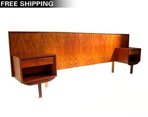 scandinavian teak bedroom furniture asian design of teak vintage danish modern teak headboard queen headboard pair