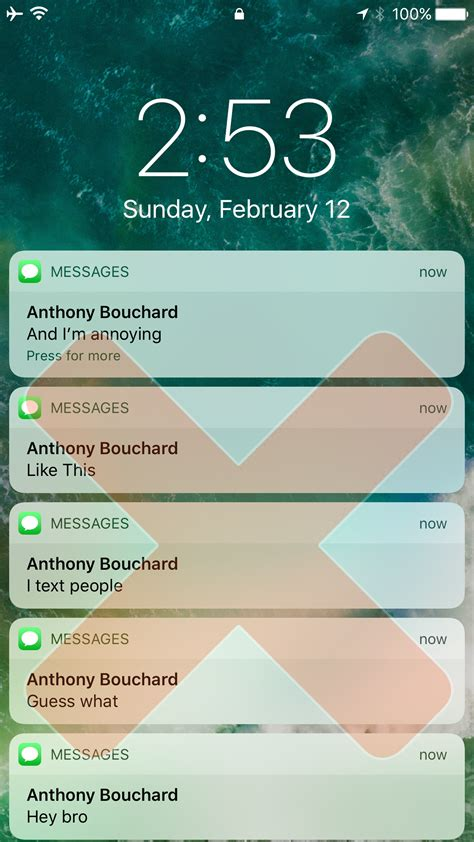 tweak prevents people  text