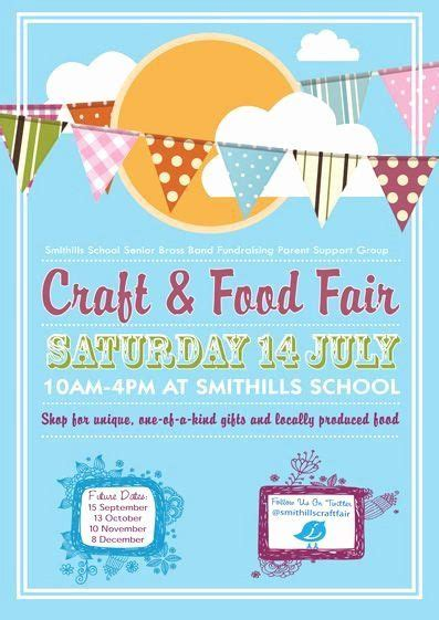 craft fair flyer template  awesome smithills july craft food fair flyer