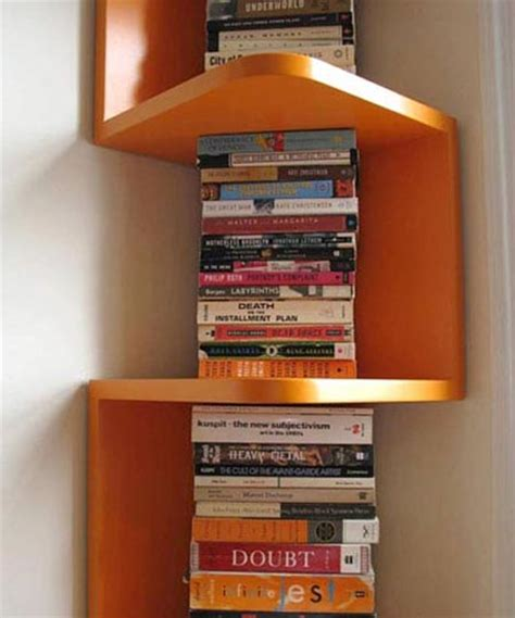 Corner Shelf System by Wooden Shelves Hometone