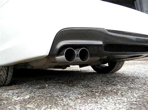 bmw performance exhaust on non turbo 323i e90 sedan