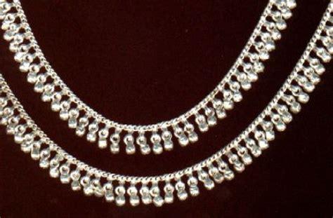 Gelang Kaki India Payal 17 payal design s l payal anklet fancy silver payal