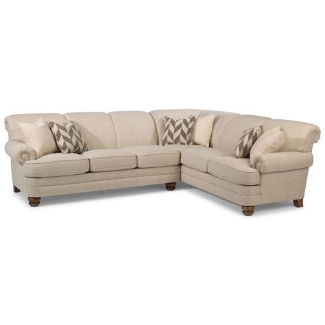 sofa mart st george utah flexsteel bay bridge 5 seat sectional with left arm facing