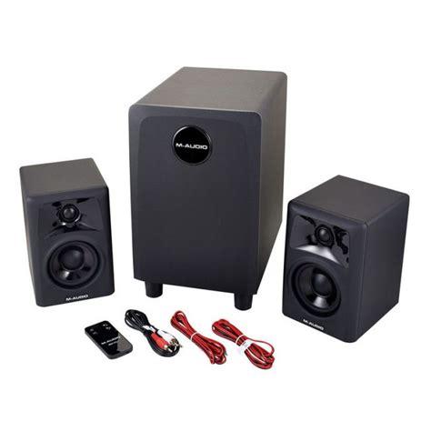 jual m audio av32 1 studio monitor with subwoofer pair
