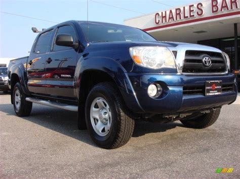 2008 Toyota Tacoma Prerunner Specs 2008 Indigo Ink Pearl Toyota Tacoma V6 Sr5 Prerunner