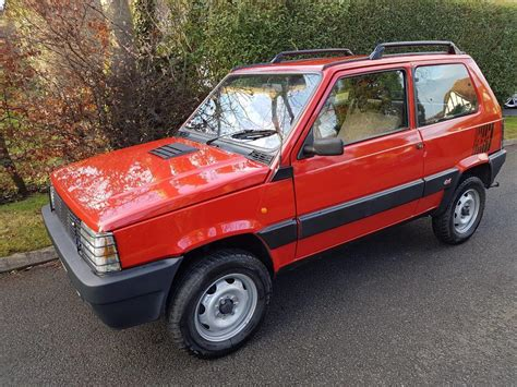 used 1988 fiat panda 4x4 for sale in west