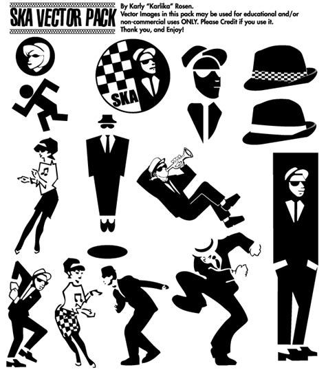 ska dancer clipart 22