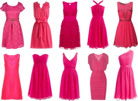 pink dress for valentines day pink cocktail dresses for a s day date