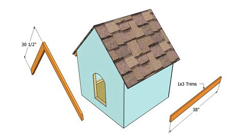 plywood dog house plans plan from making a sheds simple wood shed plans 6x10 dog diy
