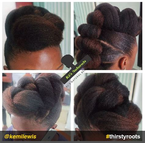 Roll Hairstyle For Black Hair by 13 Hair Updo Hairstyles You Can Create