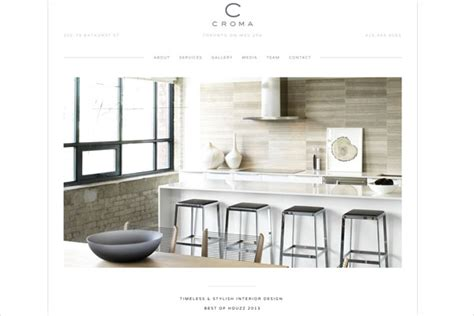 interior design site 33 clean minimalist and simple interior design websites