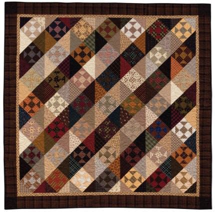Country Primitive Quilt Patterns by Primitive Quilt In Moodier Shades Quilting