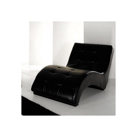 modern leather chaise longue contemporary chaise longue real leather noname