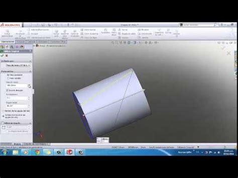 tutorial solidwork 2014 tutorial grafilado moleteado solidwork youtube