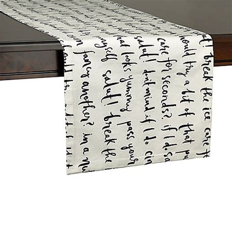 kate spade table runner kate spade york small table runner bed bath