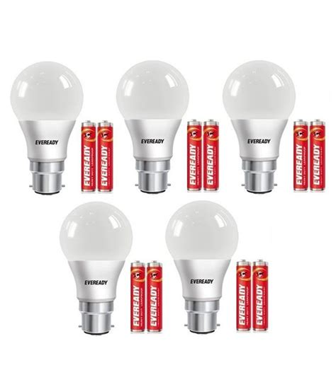 Eveready 7w Pack Of 5 Led Bulbs Available At Snapdeal For Eveready Led Light Bulbs