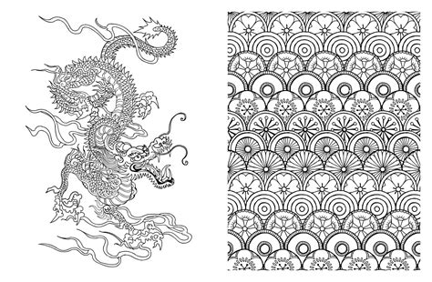 Japan Coloring Book japanese coloring japanese coloring