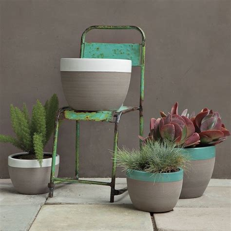 modern planters and pots camille planters contemporary outdoor pots and