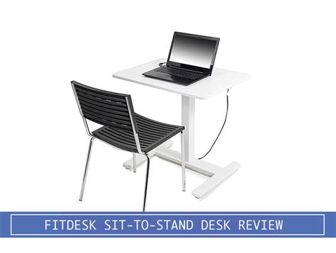 sit to stand desk reviews fitdesk sit to stand small standing desk review