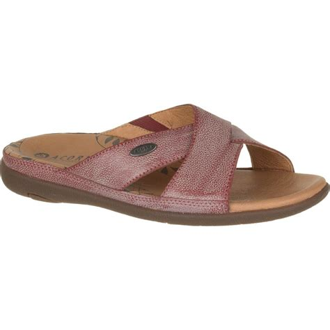 sandals womens acorn prima cross slide sandal s backcountry