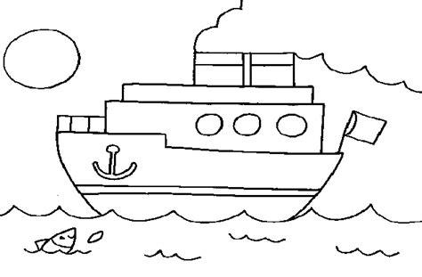 imagenes de un barco para colorear dibujar un barco imagui